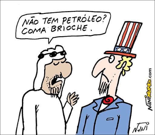 O erro das realezas. petróleo. países árabes