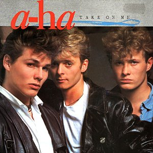 a-ha - Take On Me single sleeve front