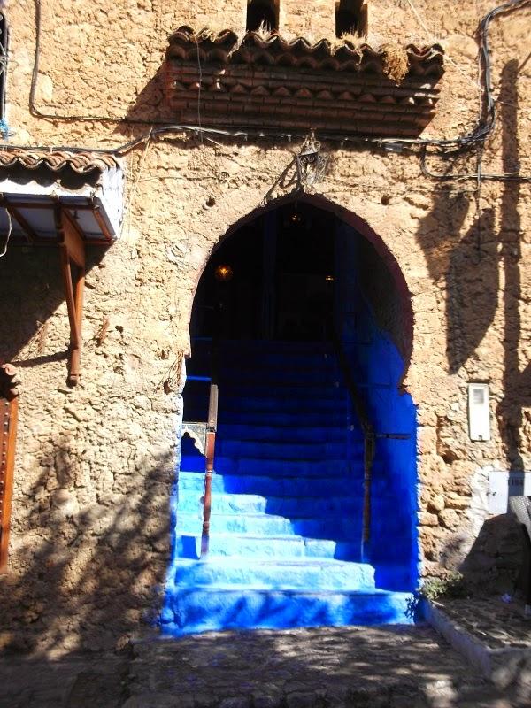 Azul añil Chaouen