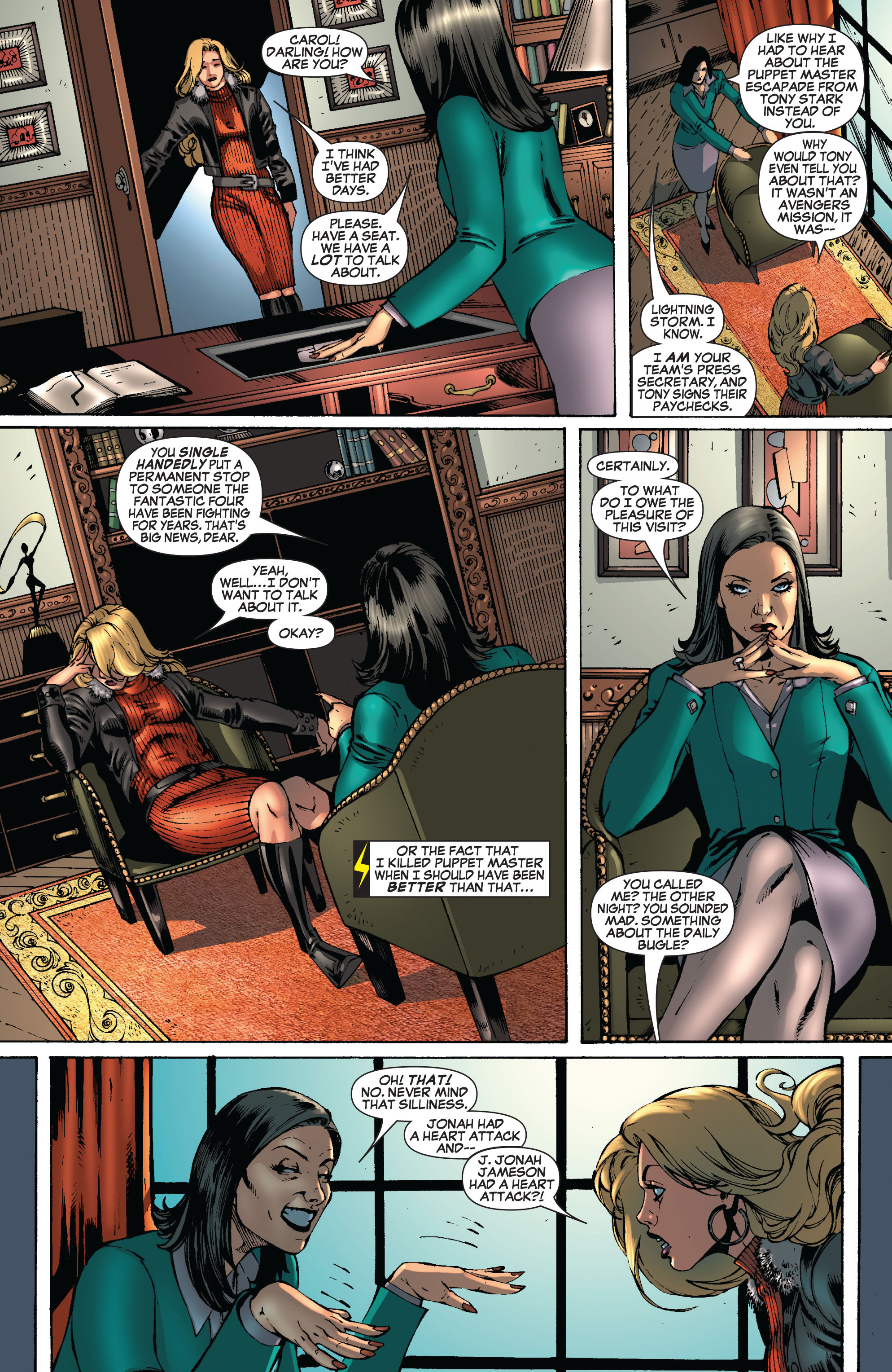 Read online Secret Invasion: The Infiltration comic -  Issue #8 - 20