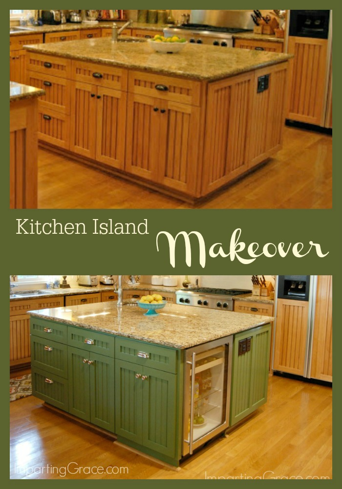Imparting Grace: Kitchen island makeover