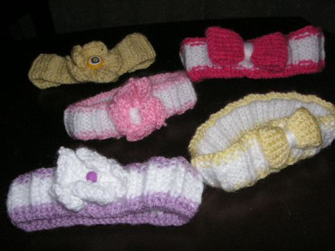 Knitting Galore Cute Baby Headband