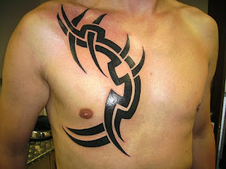 Men Chest Tattoo Design Photo Gallery - Chest Tattoo Ideas
