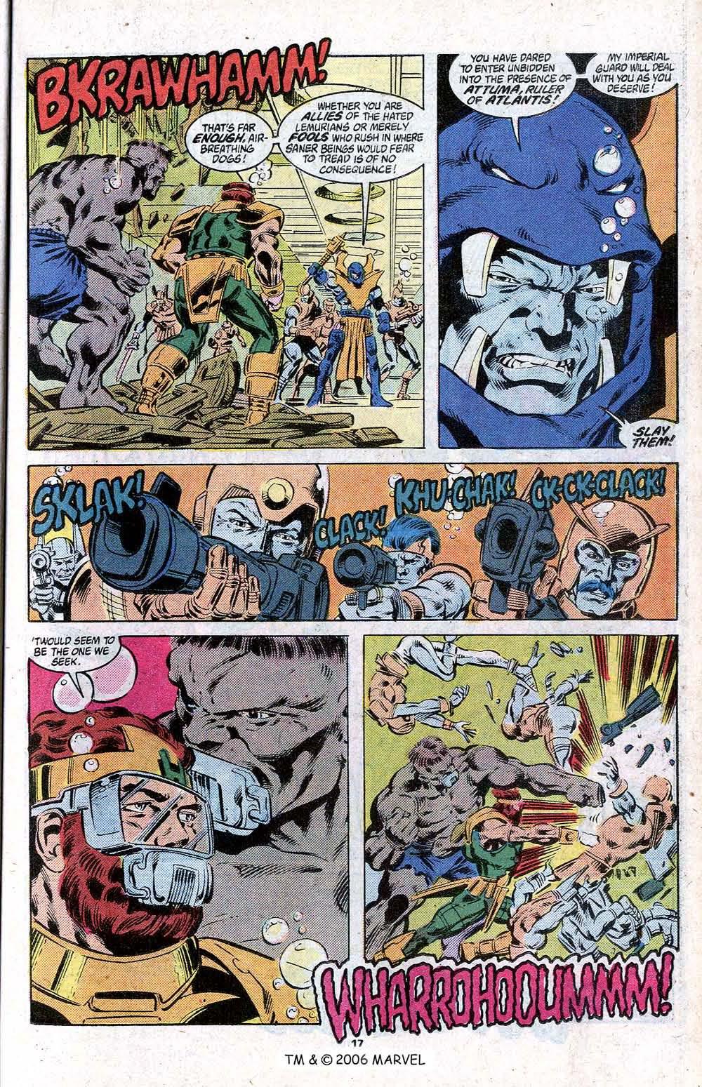 Captain America (1968) Issue #348c #280 - English 19