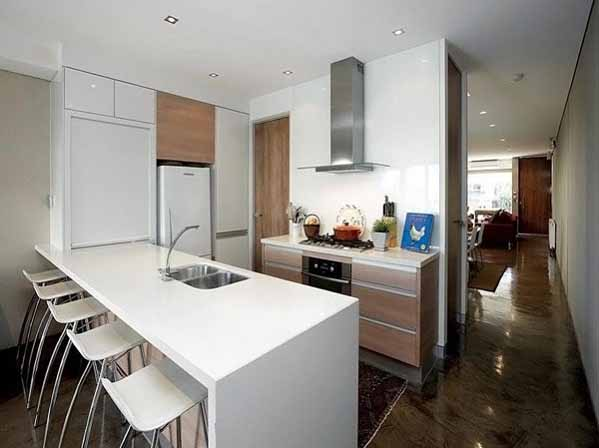 rumah minimalis, dapur elegan