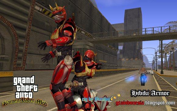 Kamen Rider Hibiki Armed Form - GTA 5 Mod, GTA 4, GTA San Andreas ...