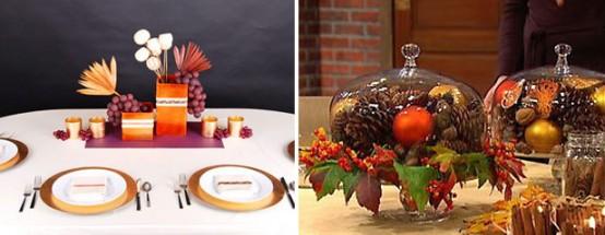 C mo decorar la mesa en el d a de acci n de gracias for Decoracion de mesa para accion de gracias