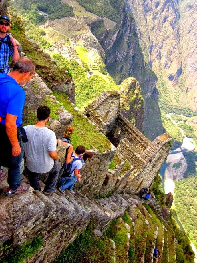 Machu Picchu paling ramai