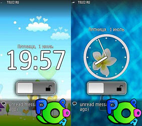 Digitalfootmark Lock Screen