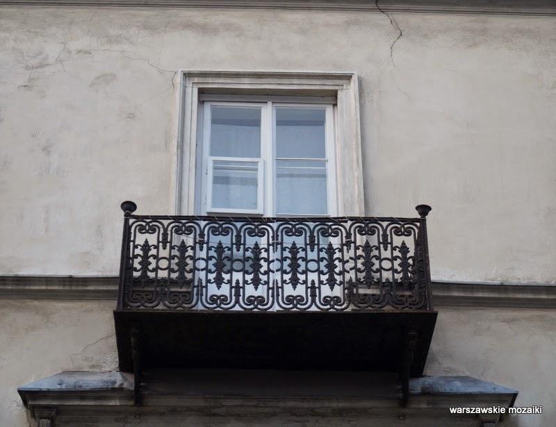 Warszawa Powiśle kamienica Mariensztat balkon