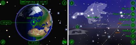 Star Walk iPhone app updated to feature Gyroscope Support on iPhone 4
