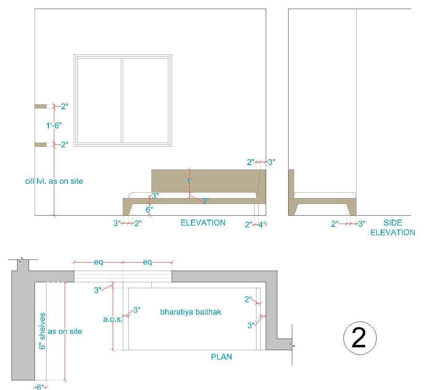 Front Elevation Beds : Interior designing portfolio interiors for a bedroom
