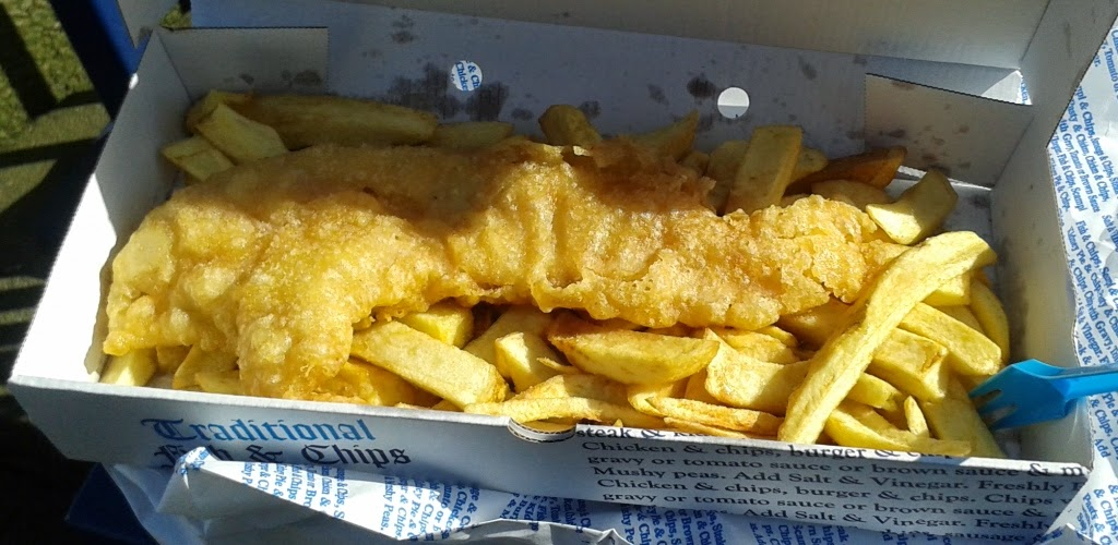 The ham and egger files gluten free at oldswinford fish for Gluten free fish and chips