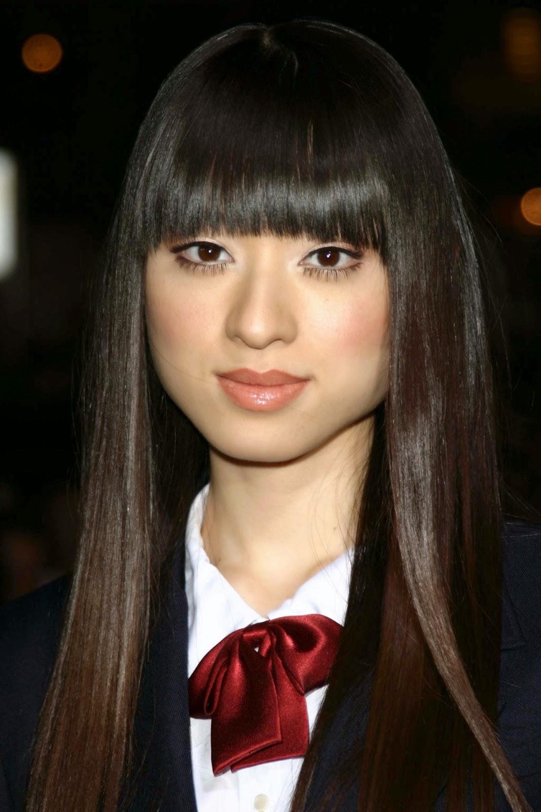 HC - BC: Chiaki Kuriyama Japanese Actress Singer Model Evan Rachel Wood