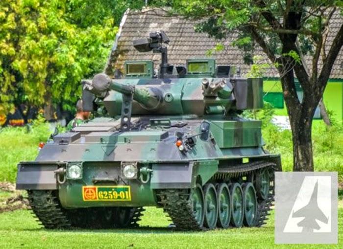 Tank Scorpion TNI Batalyon Kavaleri-8