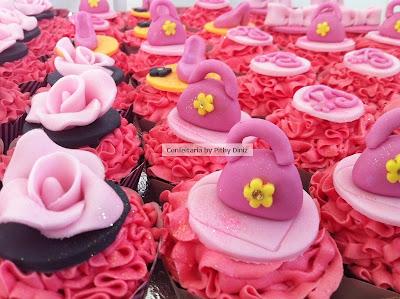 cups barbie Cupcakes da Barbie!!