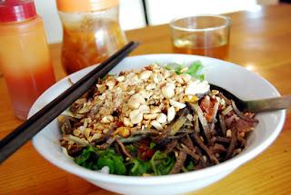 Các món trộn đậm đà hương vị Hà Nội
