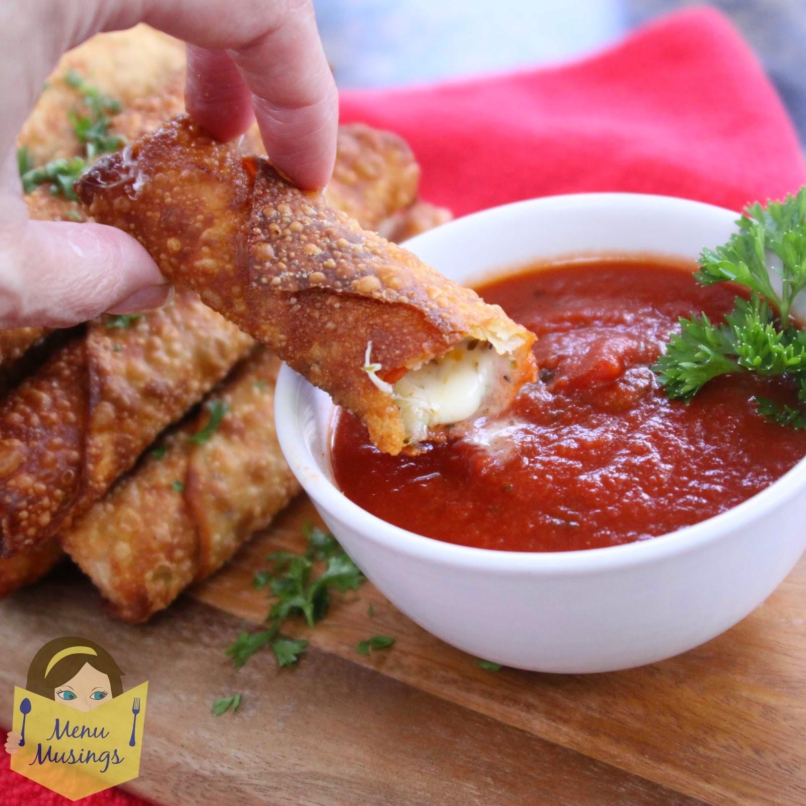 Happy Hour Pizza Rolls @ menumusings.com
