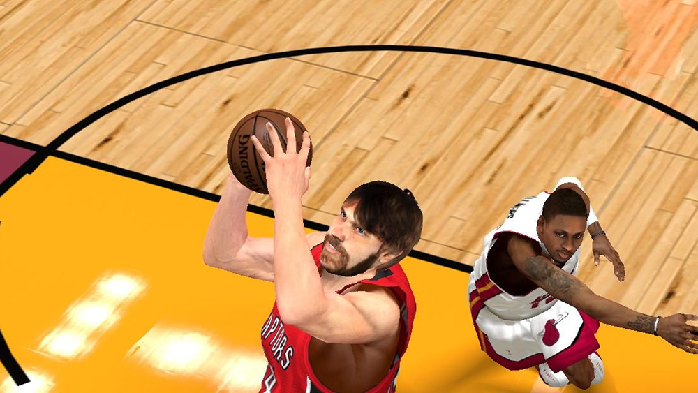 NBA 2K14 Aaron Gray Cyberface with Beard Mod