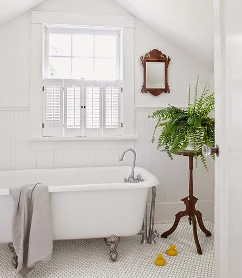 Plants In Bathroom Design Ideas