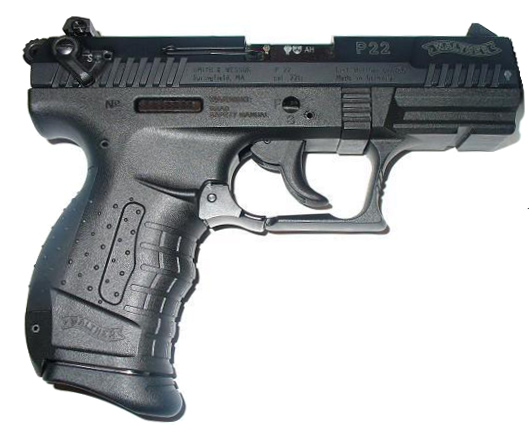 The Walther P-22  ES2 Weapon of the 1st Quarter Of 2017
