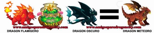 como obtener el dragon meteoro en dragon city formula 2