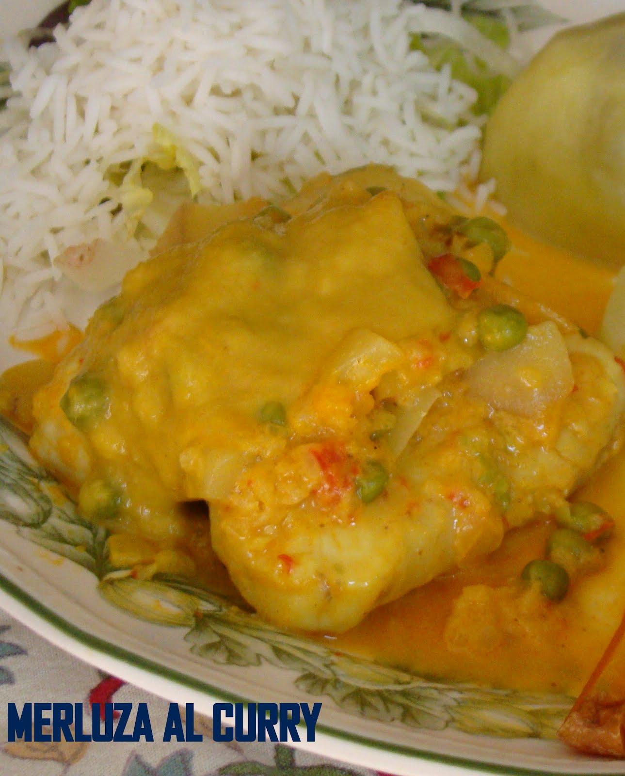 Cocina con catalina lomos de merluza al curry con mango - Cocinar lomos de merluza ...