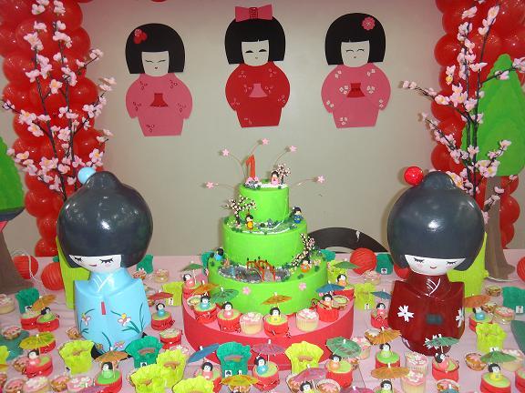 decoracao festa kokeshi:MONKEY FESTAS por Elen Moreti: Decoração com balões KOKESHI