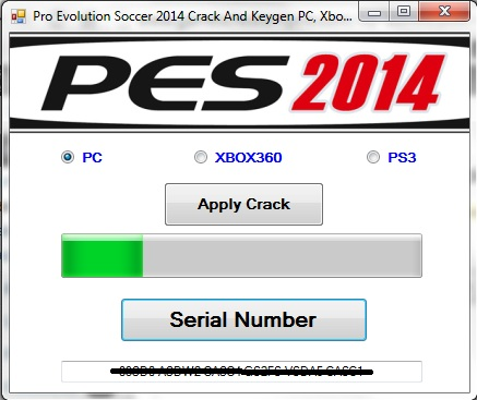 Pro Evolution Soccer 2014 Crack And Keygen PC, Xbox360 and PS3
