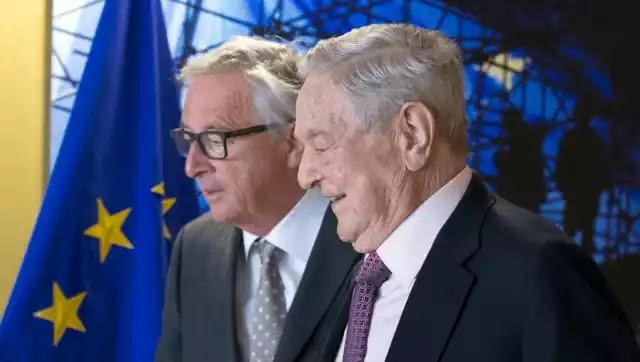 Ο Σόρος με την ηγεσία της Ε.Ε. θα φέρνουν 1000000 λαθρομετανάστες ανά έτος στην Ευρώπη.