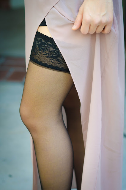 Lacy Thigh-highs