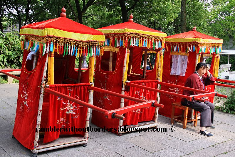 Bridal sedan chair, Suzhou, China