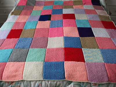 Linda's Crafty Corner: Box of Squares : knitted quilt squares - Adamdwight.com