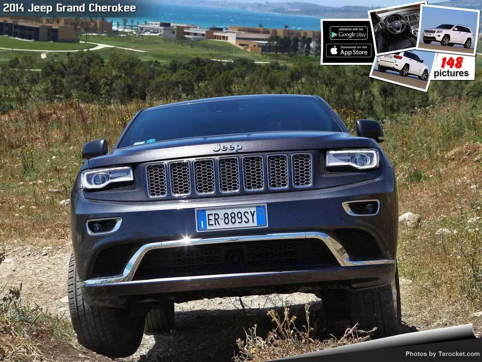 Hình ảnh xe ô tô Jeep Grand Cherokee EU-Version 2014 & nội ngoại thất