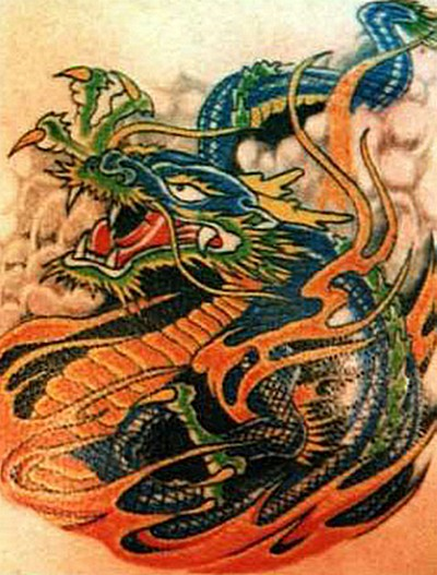 Design Tattoo Naga Dragon Tattoos Design