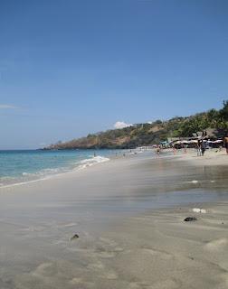 Objek Wisata Pantai Perasi (Virgin Beach) Bali