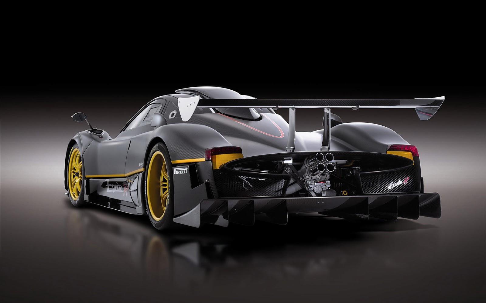 Formula 1 Pagani Car