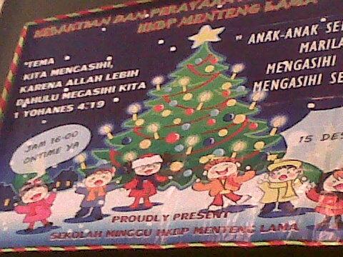 Hkbp Resort Menteng Lama Halimun Perayaan Natal Sekolah Minggu