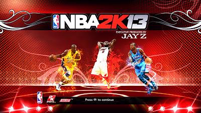 2K13 NBA's Big 3 Startup Screen Cover Mod