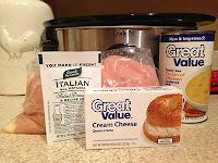 Crockpot Creamy Italian Chicken Crisp w/ a secret ingredient