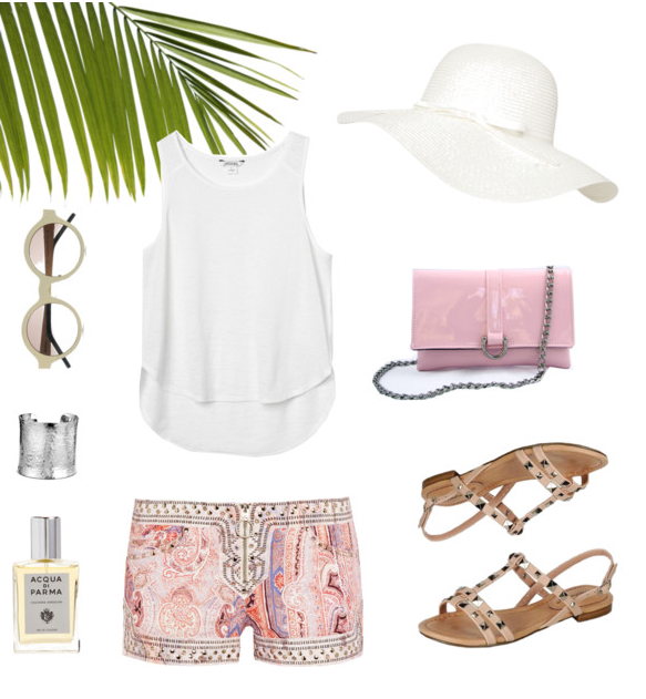 Tropical Summer Travel Style