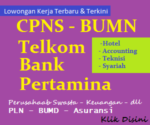 Bursa Lowongan Kerja Terbaru