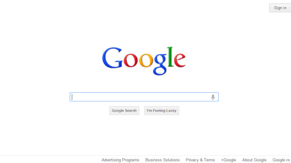 how to change the search bar to google