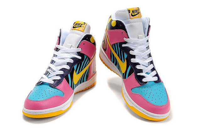 Funky High Tops Print Dunks High Tops