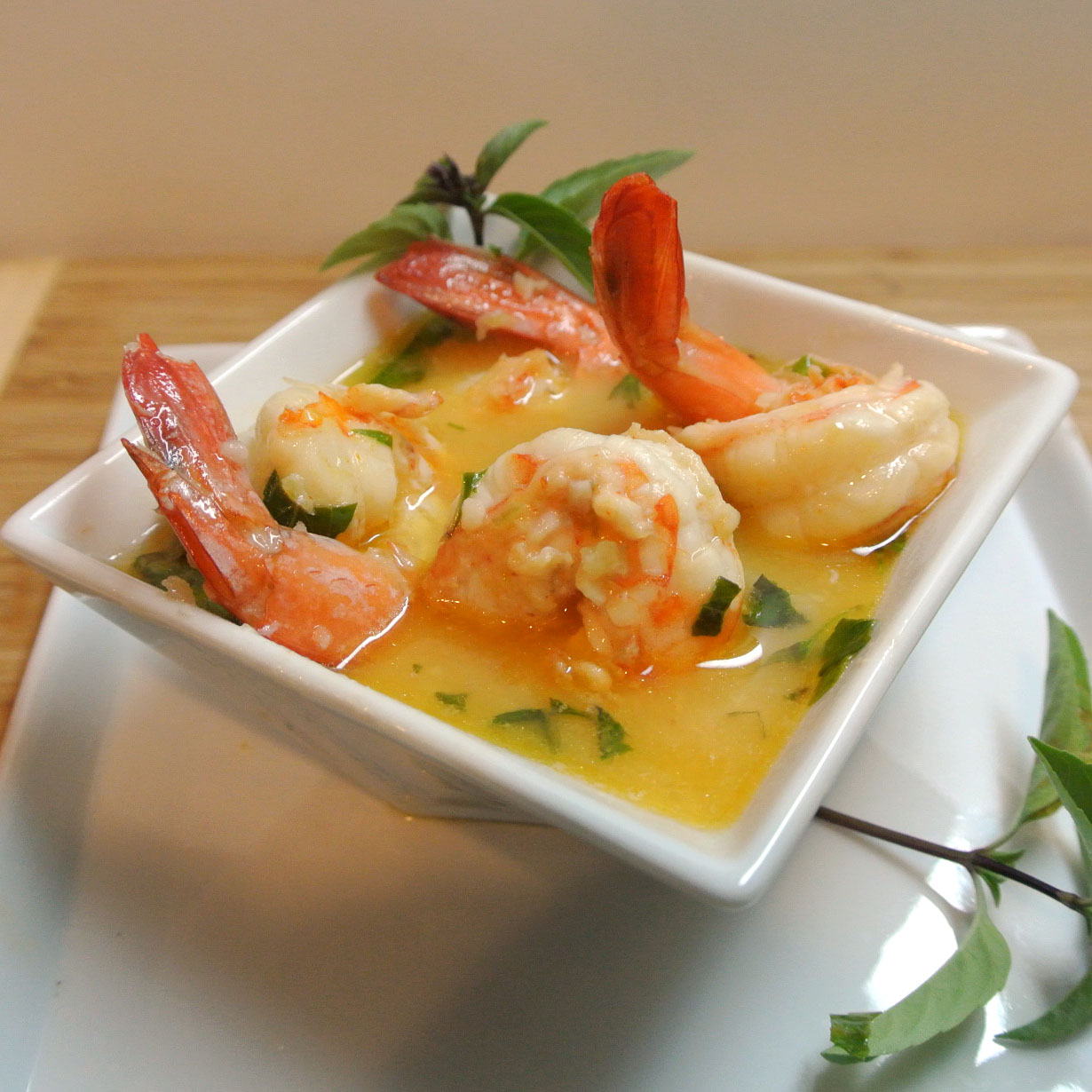 Mom, What's For Dinner?: Thai Coconut Lemon Lime Shrimp