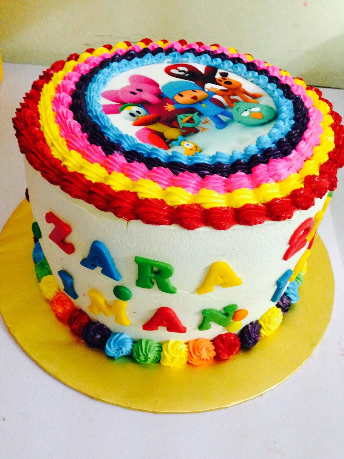 ninie cakes house: Paroro and Rainbow Design