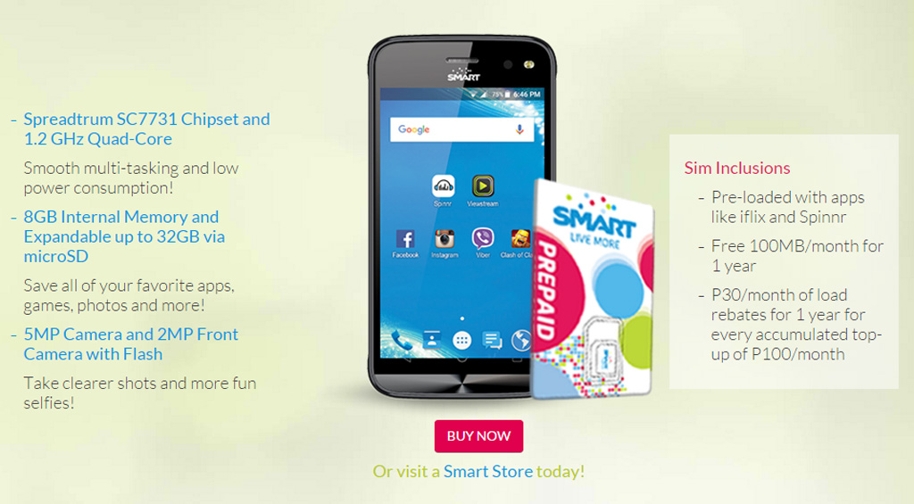 MyPhone My28 Smart Phone Kit Promo
