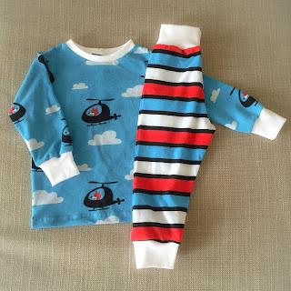 remake återbruk filt tröja byxa sy barnkläder inspiration