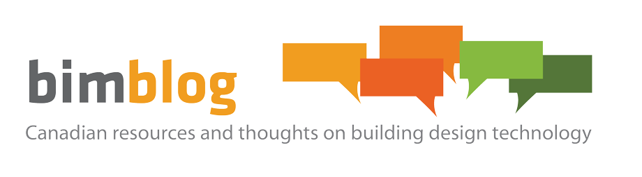 bimblog Canadian resources and thoughts on building design technology