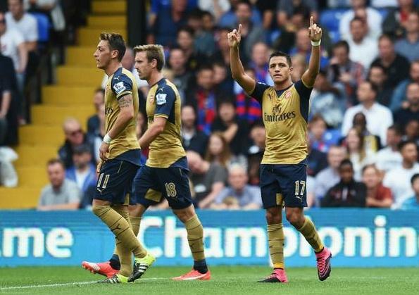 Hasil Pertandingan: Crystal Palace takluk 1-2 dari Arsenal